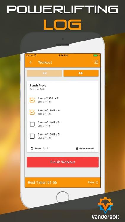 Sheiko Log - Weight Lifting Tracker