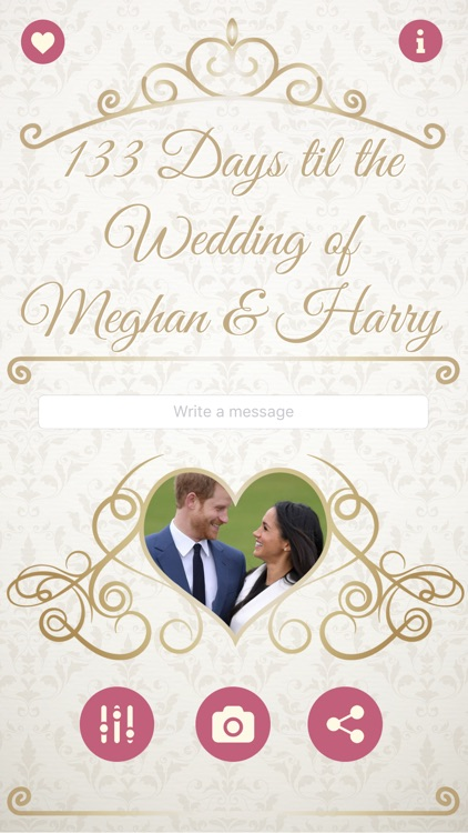 The Royal Wedding Countdown