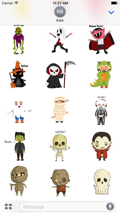 Halloween character emoji