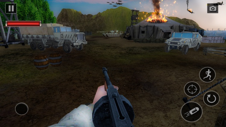 World War 2 Battle Game screenshot-0