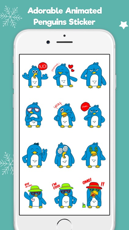 Penguin Stickers Animated