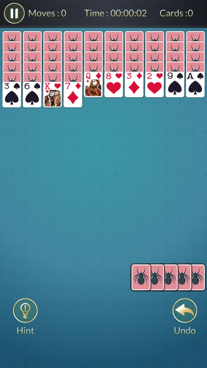 Spider Solitaire - card game puzzle screenshot-3