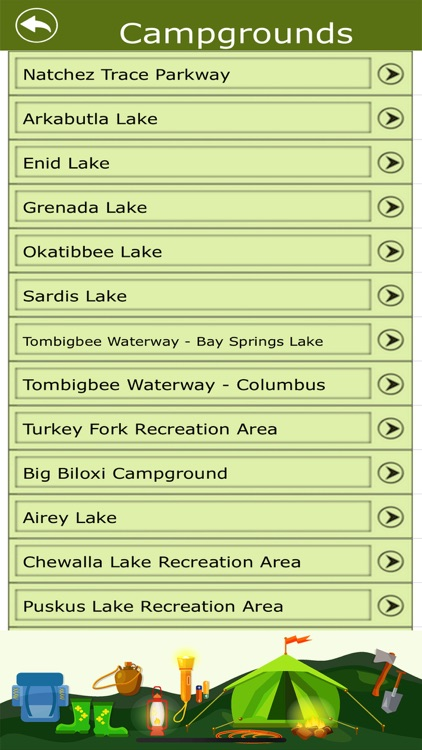 Mississippi Camping & Trails screenshot-3
