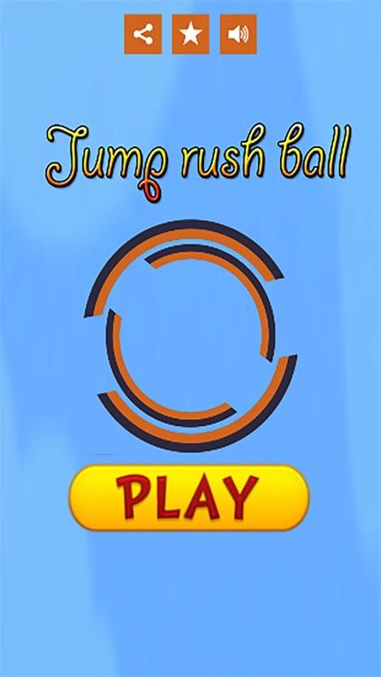 Jump rush ball