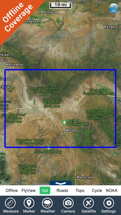 Arches National Park GPS Chart screenshot-4