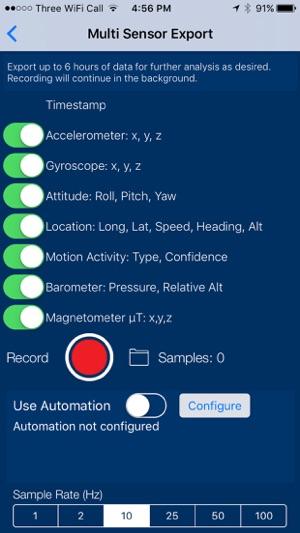Sensors Pro - The Scientific Data Recorder on the App Store
