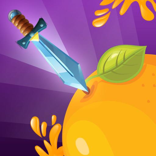 Juicy Knife Throw - Hit Splash