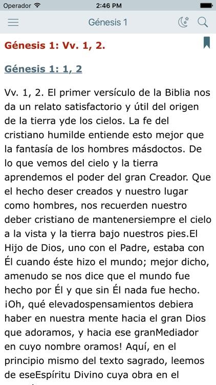 Comentario Bíblico con Biblia