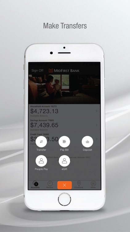 MidFirst Bank Mobile screenshot-7