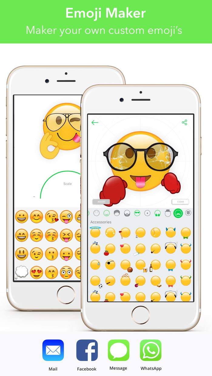 Stickers eMoji for iMessage Screenshot