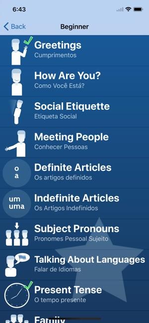 Learn portuguese tudo bem on the app store screenshots m4hsunfo