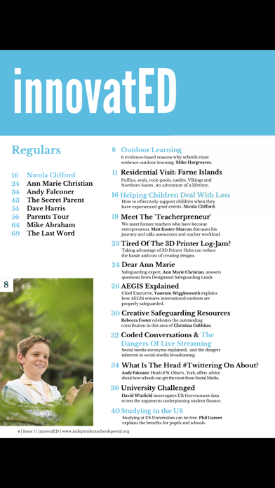innovatED Magazine screenshot 4