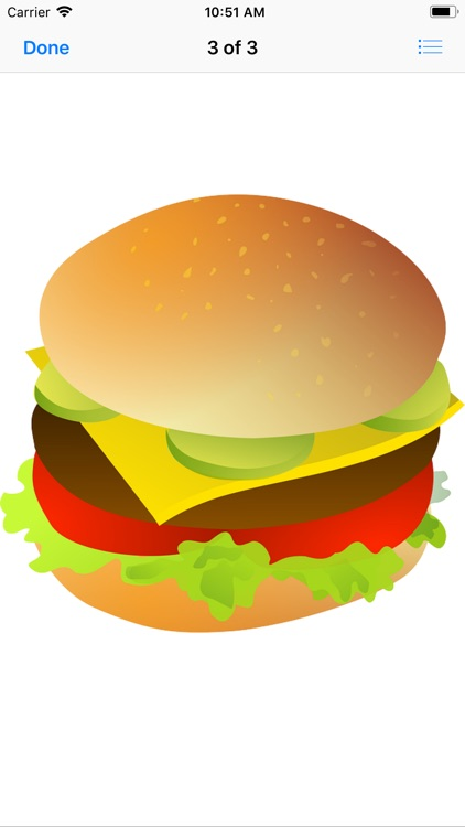 Heavenly Hamburger Stickers screenshot-5