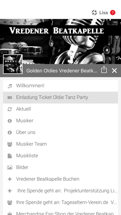 Vredener Beatkapelle screenshot 2