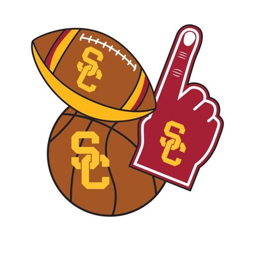 USC Trojans Selfie Stickers