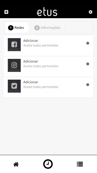 Etus - Gestão de redes sociais screenshot two