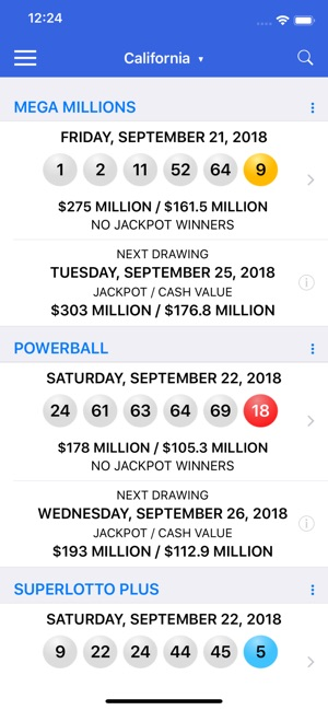 Super plus lotto numbers