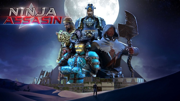 Shadow Ninja Assassin Game screenshot-4