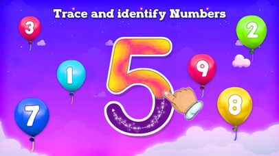 123 Counting & Tracing Numbers screenshot 1