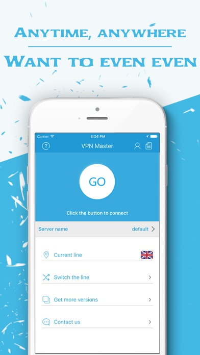 VPN Master - shield hotspot Screenshot on iOS