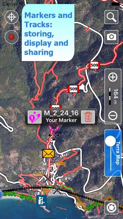 Cinque Terre Trails Hiking GPS screenshot-3