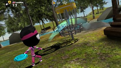 Screenshot from Stickman Disc Golf Battle
