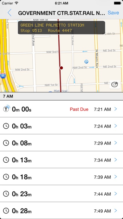 Transit Tracker - Miami Dade