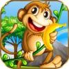 跳跃猴子丛林香蕉跑酷