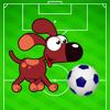 Voetbal, Hond op Voetbalveld