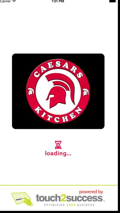 Caesars Kitchen screenshot one