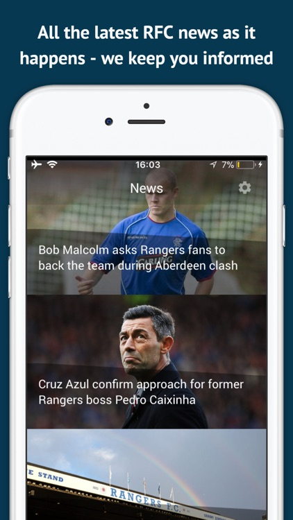 Heart and Hand - Rangers App screenshot-4