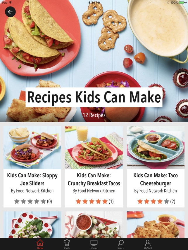 Food network in the kitchen en app store forumfinder Gallery