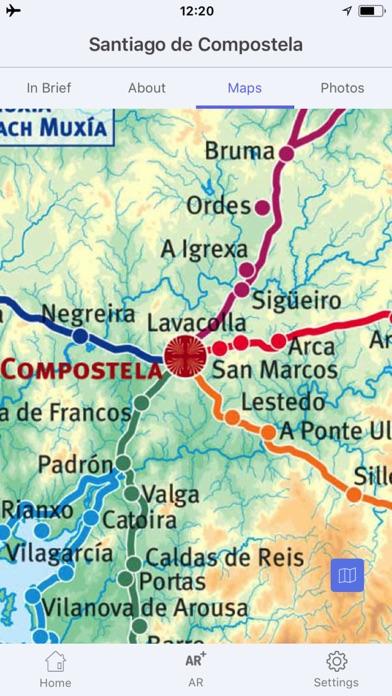 サンティアゴ・デ・コンポステーラ 旅行 ガイド &マップのスクリーンショット5
