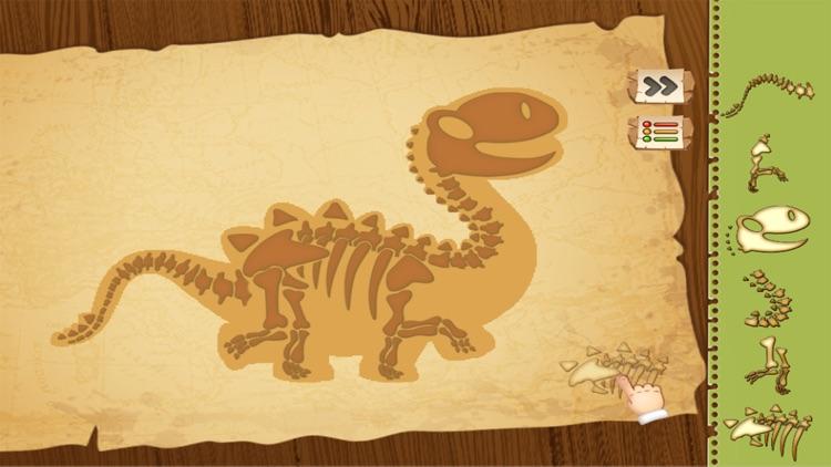 Dinosaurs Quest Bone Digging screenshot-4