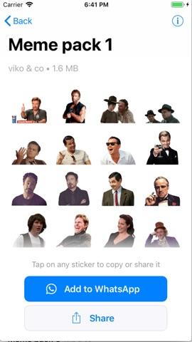 Meme Sticker Pack For Whatsapp App Itunes Deutschland