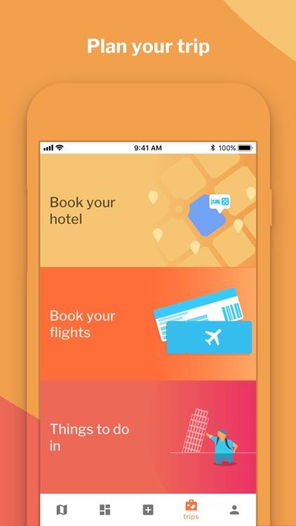 Crear y compartir viajes screenshot-3