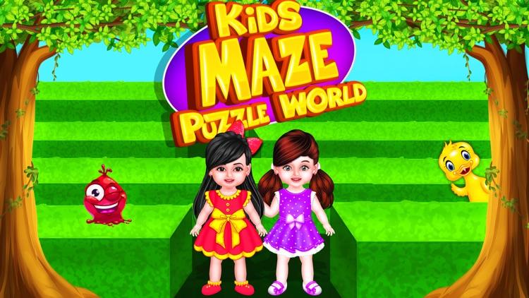 Kids Maze : Educational Puzzle screenshot-4