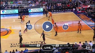 NBA app image