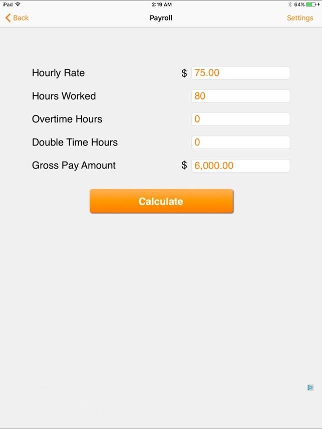 2018 payroll tax calculator