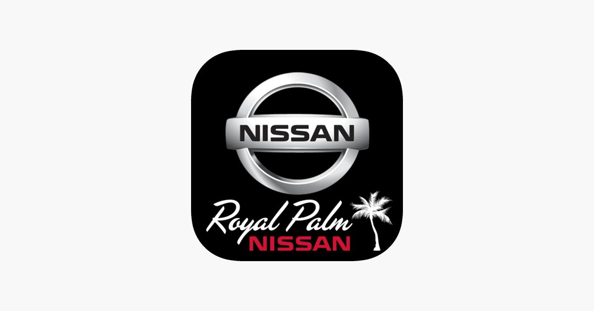 royal palm nissan dealerapp on the app store. Black Bedroom Furniture Sets. Home Design Ideas