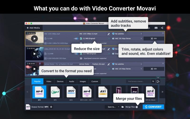 Video Converter Movavi Screenshots