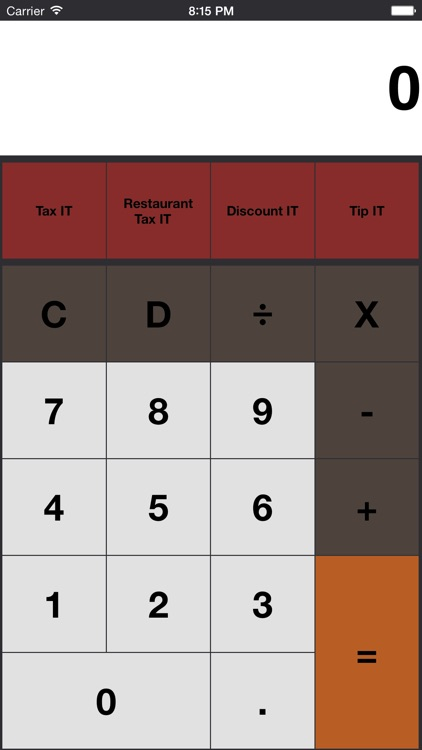 Tax It - Sales Tax Calculator