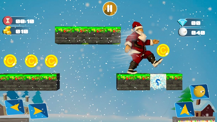Christmas Santa Run Game 2017 screenshot-4