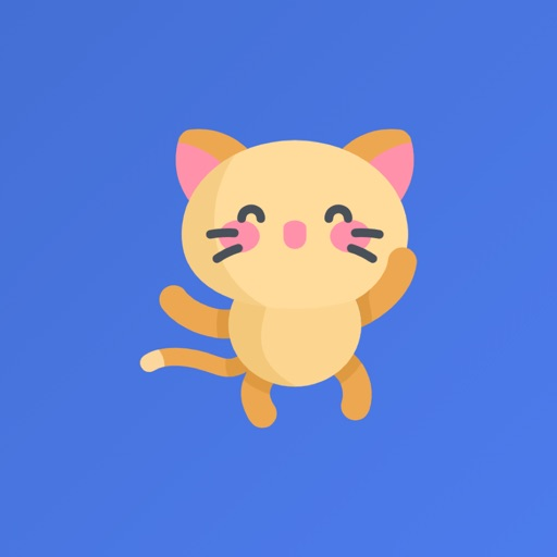 Kitty the funniest cat icon