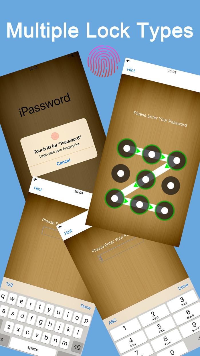Password Manager Secure App Screenshot
