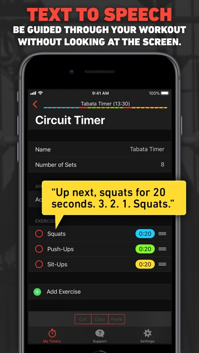 Seconds Interval Timer Hiit review screenshots