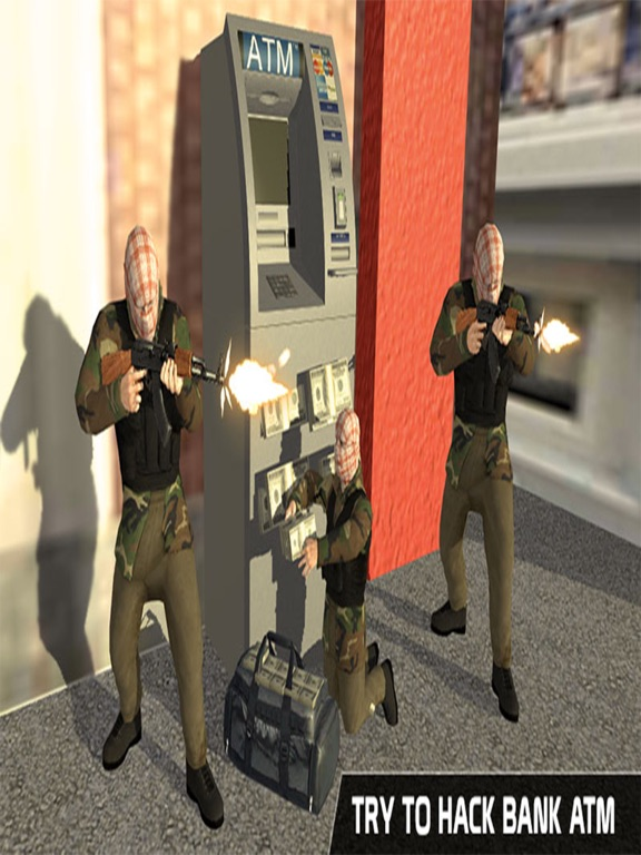 ATM Bank Robbery; Police Squad-ipad-3