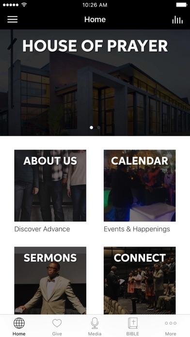 Advance Church Silver Spring screenshot 1