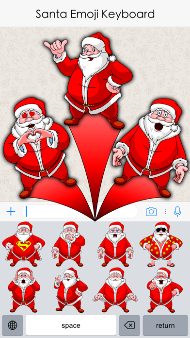 Xmas Emojis screenshot three