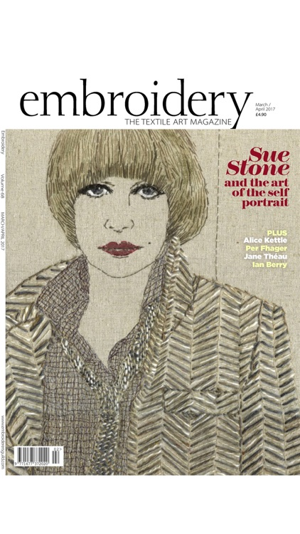 Embroidery Magazine – from the Embroiderers Guild screenshot-3